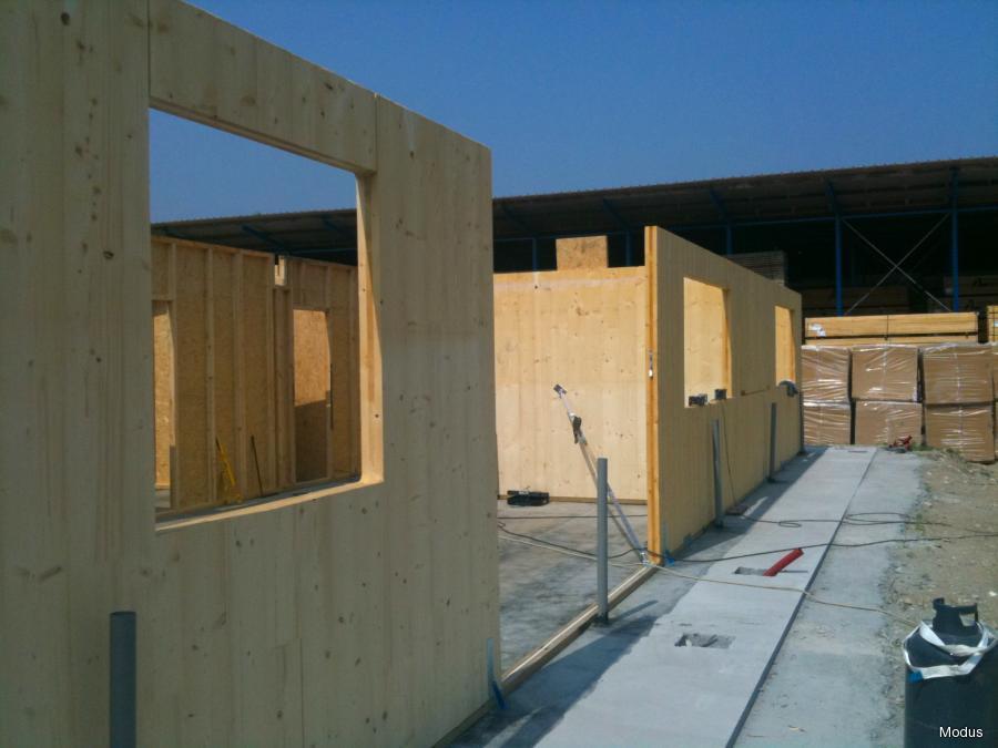 Pareti In Legno Prefabbricate : Case prefabbricate in legno fdsa