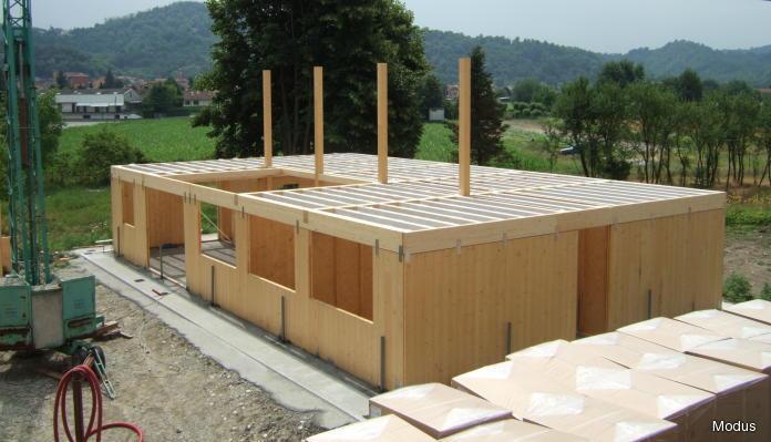 Case prefabbricate in legno fdsa for Fondazioni per case in legno