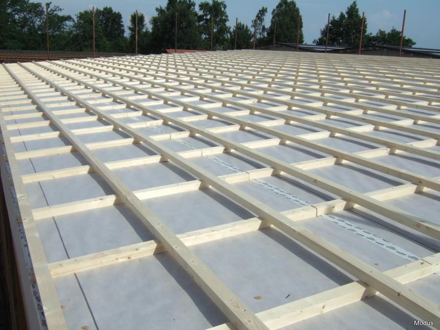 Case prefabbricate in legno fdsa for Montaggio tetto in legno ventilato