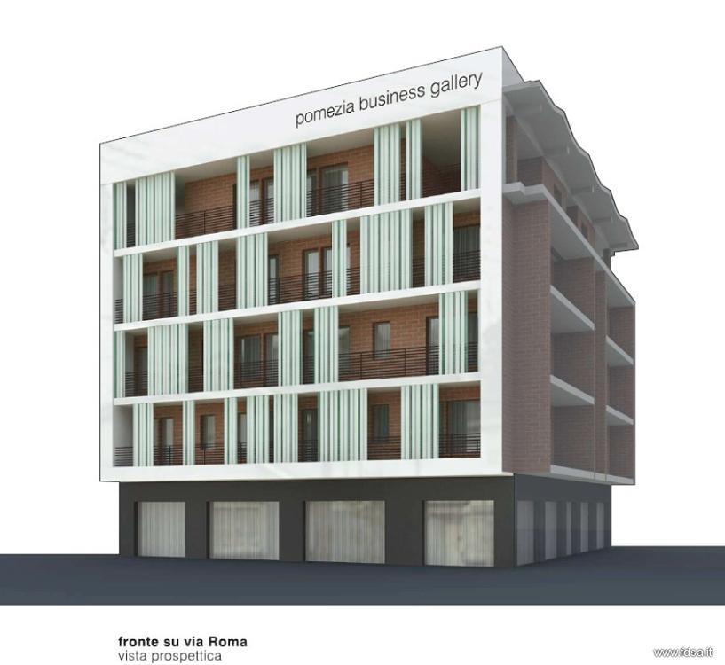 Ristrutturazione a pomezia restyle delle facciate fdsa for Architettura residenziale contemporanea