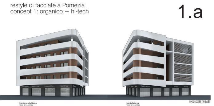 Ristrutturazione a pomezia restyle delle facciate fdsa for Case moderne sotto 100k