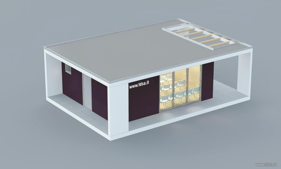 Uffici prefabbricati in legno prezzi for Uffici temporanei roma prezzi